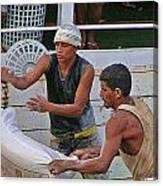 Loading Boat Canvas Print