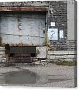 Loading Dock Door 2 Canvas Print