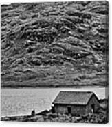 Loch Arklet Boathouse Canvas Print
