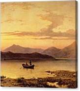 Loch Etive From Bonawe In The Evening Canvas Print