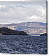 Loch Lomond - Pano1 Canvas Print