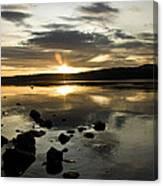Loch Rannoch Sunset Canvas Print