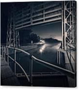 Lock 23 Canvas Print