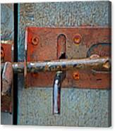 Lock And Latch Canvas Print