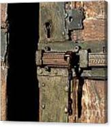 Lock Of Church. France Canvas Print