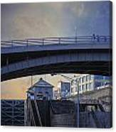 Lockport Stroll Canvas Print