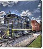 Locomotive II Canvas Print