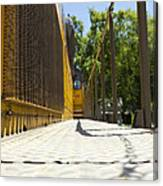 Locomotive Walkway 1 Canvas Print