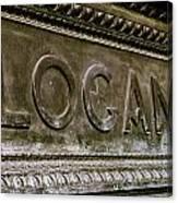 Logan Circle Canvas Print