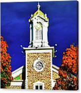 Logan Utah Lds Tabernacle Canvas Print