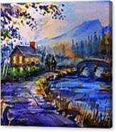 Logcabin Canvas Print
