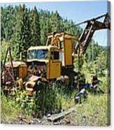 Logging Truck 2 - Burke Idaho Ghost Town Canvas Print