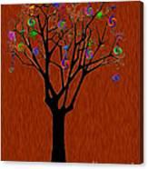 lollipop Tree Canvas Print