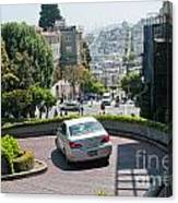 Lombard Street San Francisco Canvas Print