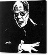 Lon Chaney As The Phantom Canvas Print