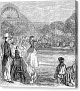 London: Archery, 1859 Canvas Print