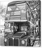 London Bus Canvas Print