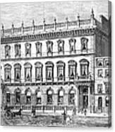 London: Carlton Club, 1868 Canvas Print
