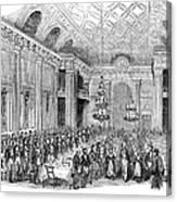 London: Freemasons Hall Canvas Print
