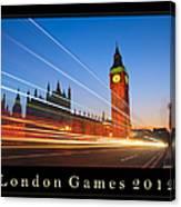 London Games 2012 Canvas Print