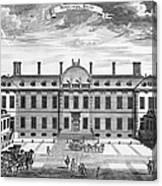 London: Montagu House Canvas Print