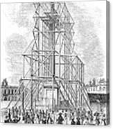 London: Nelson Column, 1845 Canvas Print