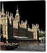 London Parliament Canvas Print