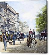 London: Piccadilly, 1895 Canvas Print