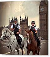 London Police Canvas Print