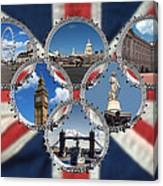 London Scenes Canvas Print