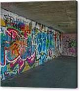 London Skatepark 5 Canvas Print