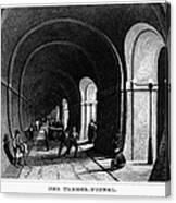 London: Thames Tunnel Canvas Print