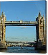 London Tower Bridge Looking Magnificent In The Setting Sun Canvas Print