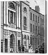 London: Watermans Hall Canvas Print