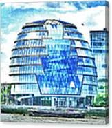 London's City Hall Canvas Print