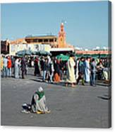 Lonely In Marrakesh Canvas Print