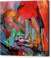 Lonely In The Big City Canvas Print
