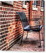 Lonely Seat Canvas Print