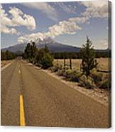 Lonesome Hiway To Shasta Canvas Print