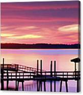 Long After Sunset Canvas Print