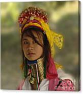Long Neck Beauty Karen Tribe Canvas Print