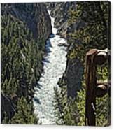 Long River View Canvas Print