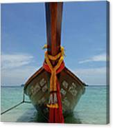 Long Tail Boat Thailand Canvas Print