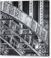 Longfellow Bridge Arches V Canvas Print