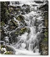 Longfellow Grist Mill Waterfall Canvas Print