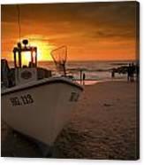 Lonstrup Sunset Canvas Print