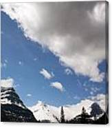 Look Out Here Come The Clouds Canvas Print