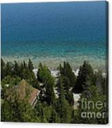 Looking Down On Dyers Bay Canvas Print