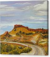 Looking For The Hoodoos Canvas Print