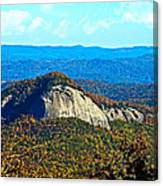 Looking Glass Mountain Blue Ridge Parkway Canvas Print